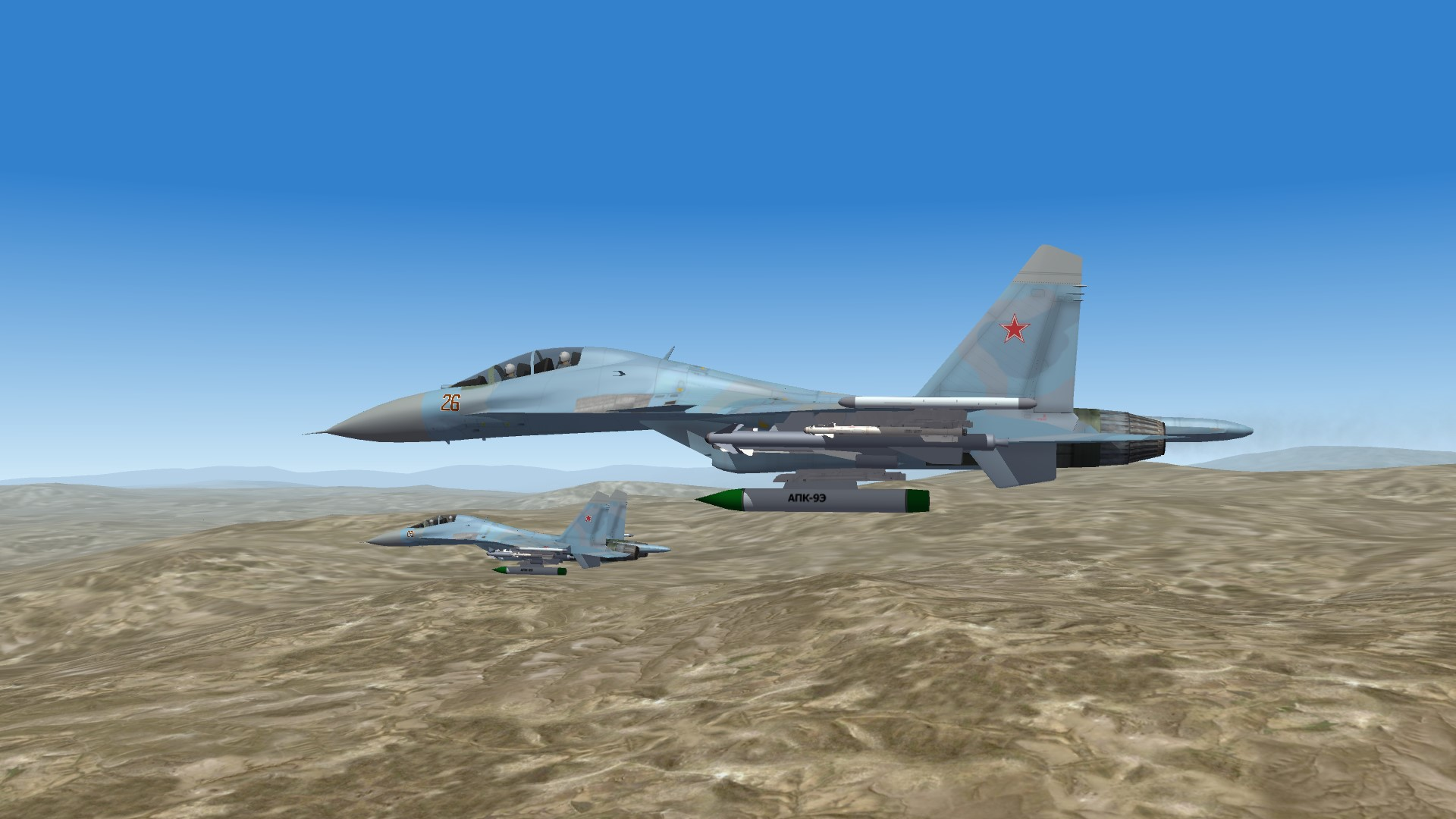 2015 SU30 on their way over Syria