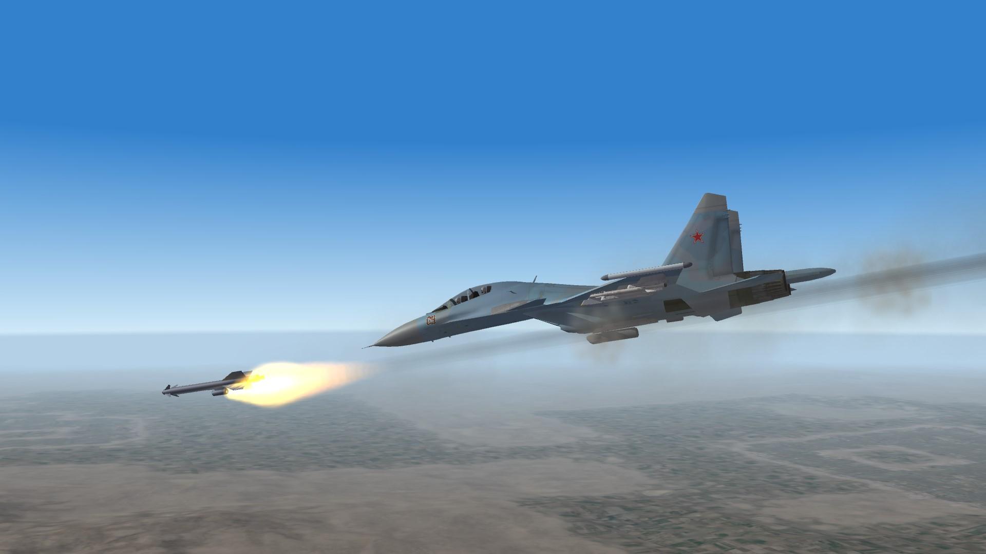 2015 SU30 over Syria