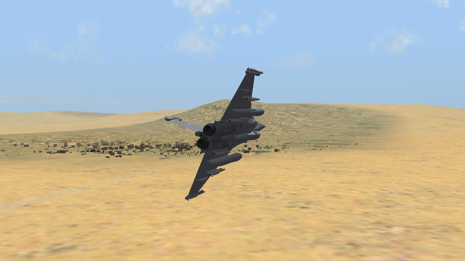 2011 Libya Rafale B on recon duty