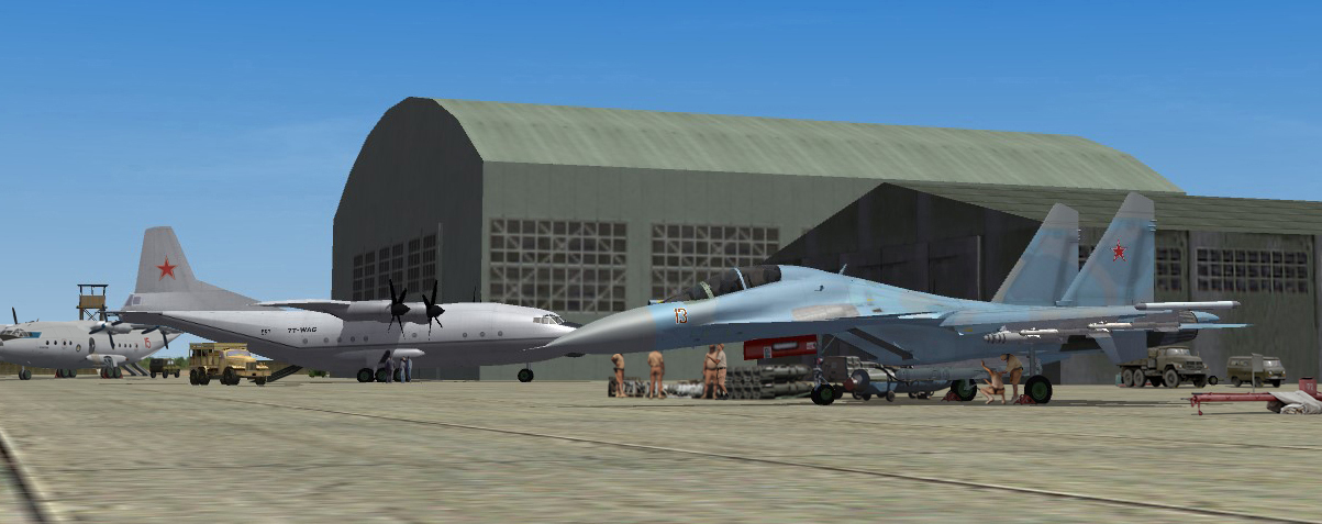 2015 Lebanon SU30 rearmed before a new mission