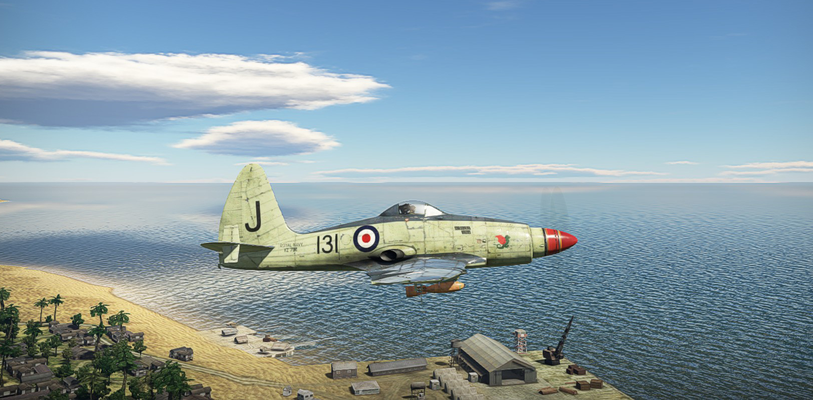 1956 Wyvern S4 on the way to target