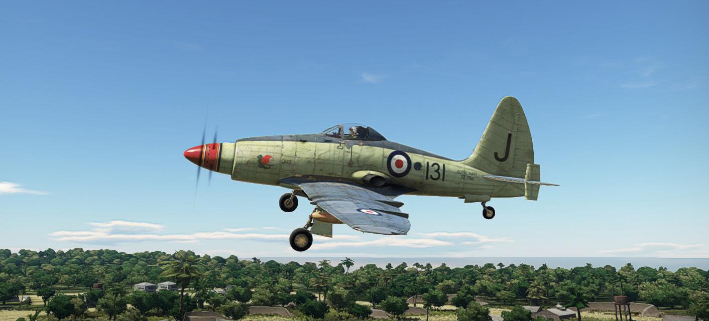 1956 Wyvern S4 Taking off