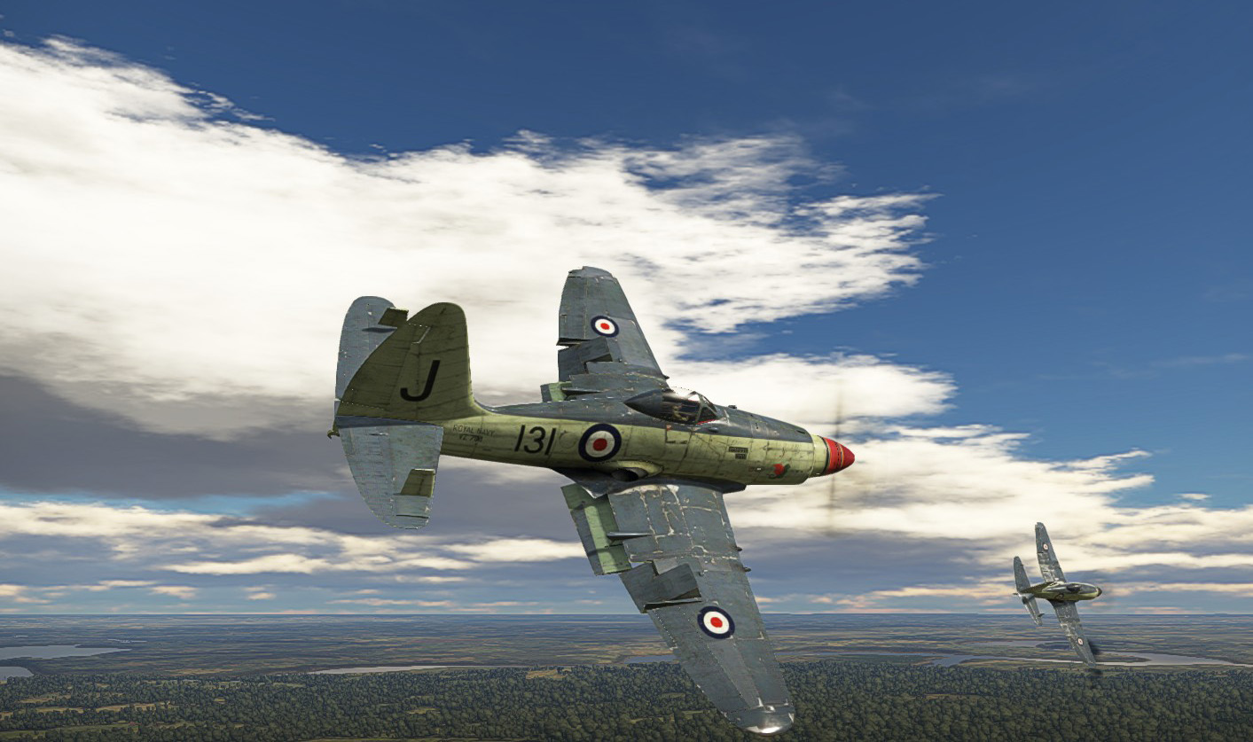 1956 Wyvern S4  in action