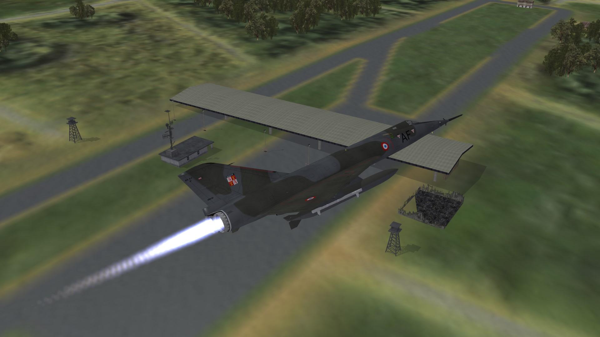 1986 Mirage IVP on recon duty W.Germany