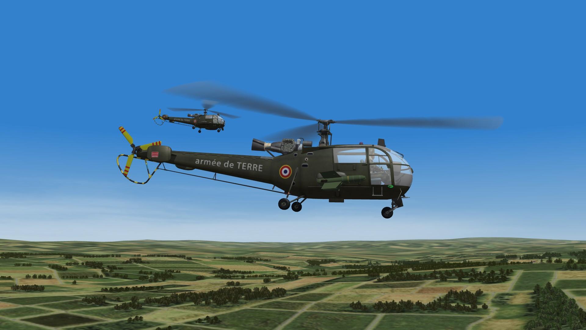 1968 AllouetteIII in CAS mission W.Germany