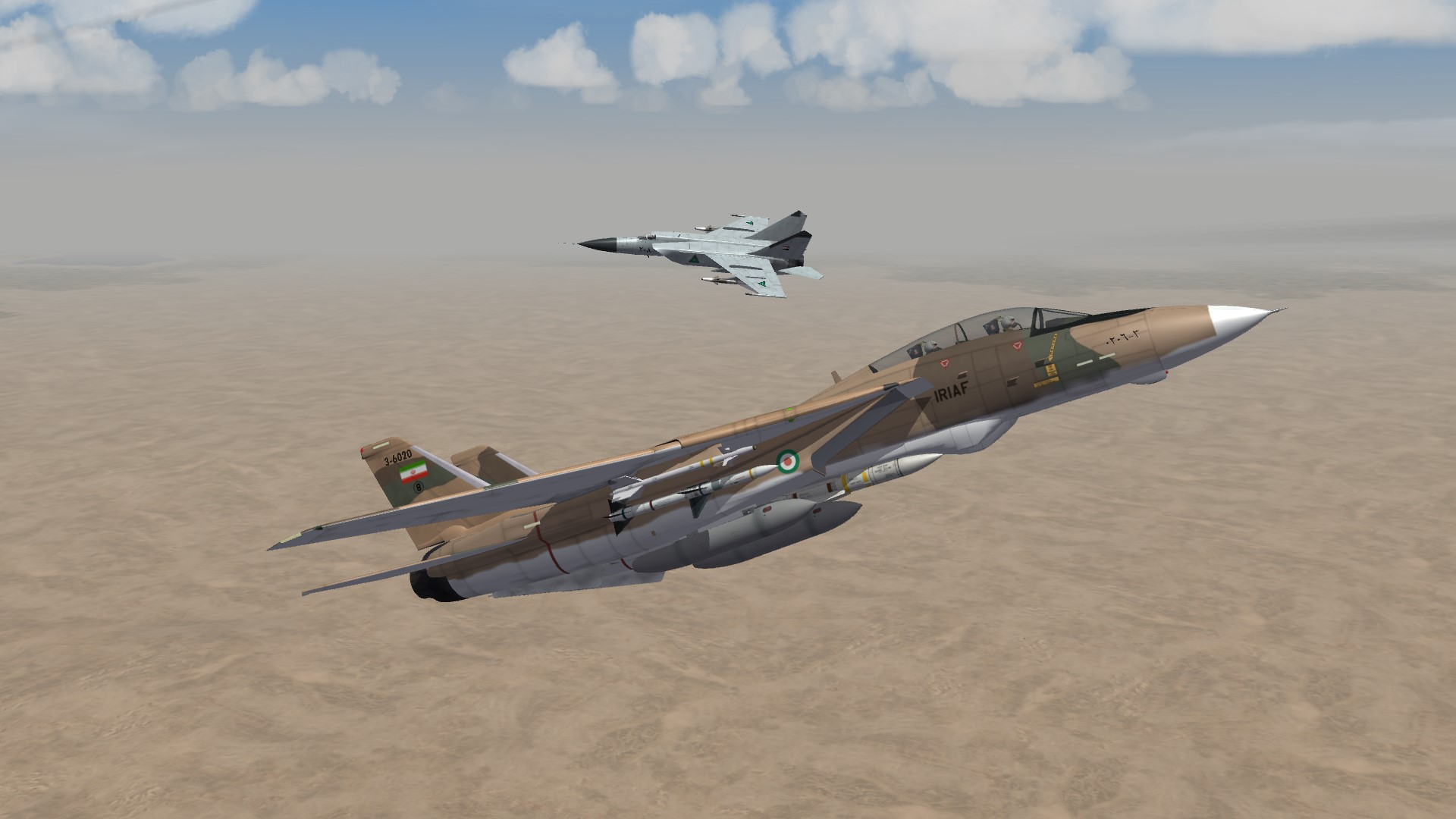 1985 Close incounter with a MIG25 Foxbat