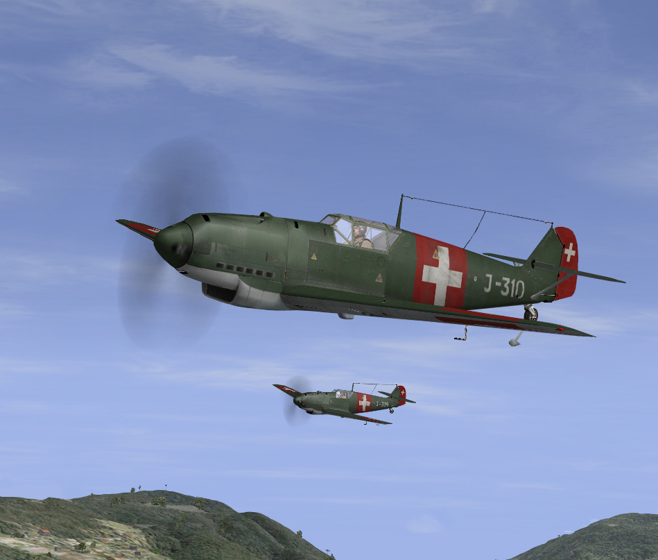05/1940 Bf109D1 of Fl.Kp15 in patrol