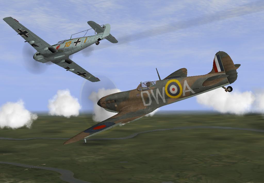 07/1940 Kill on a Bf109E3