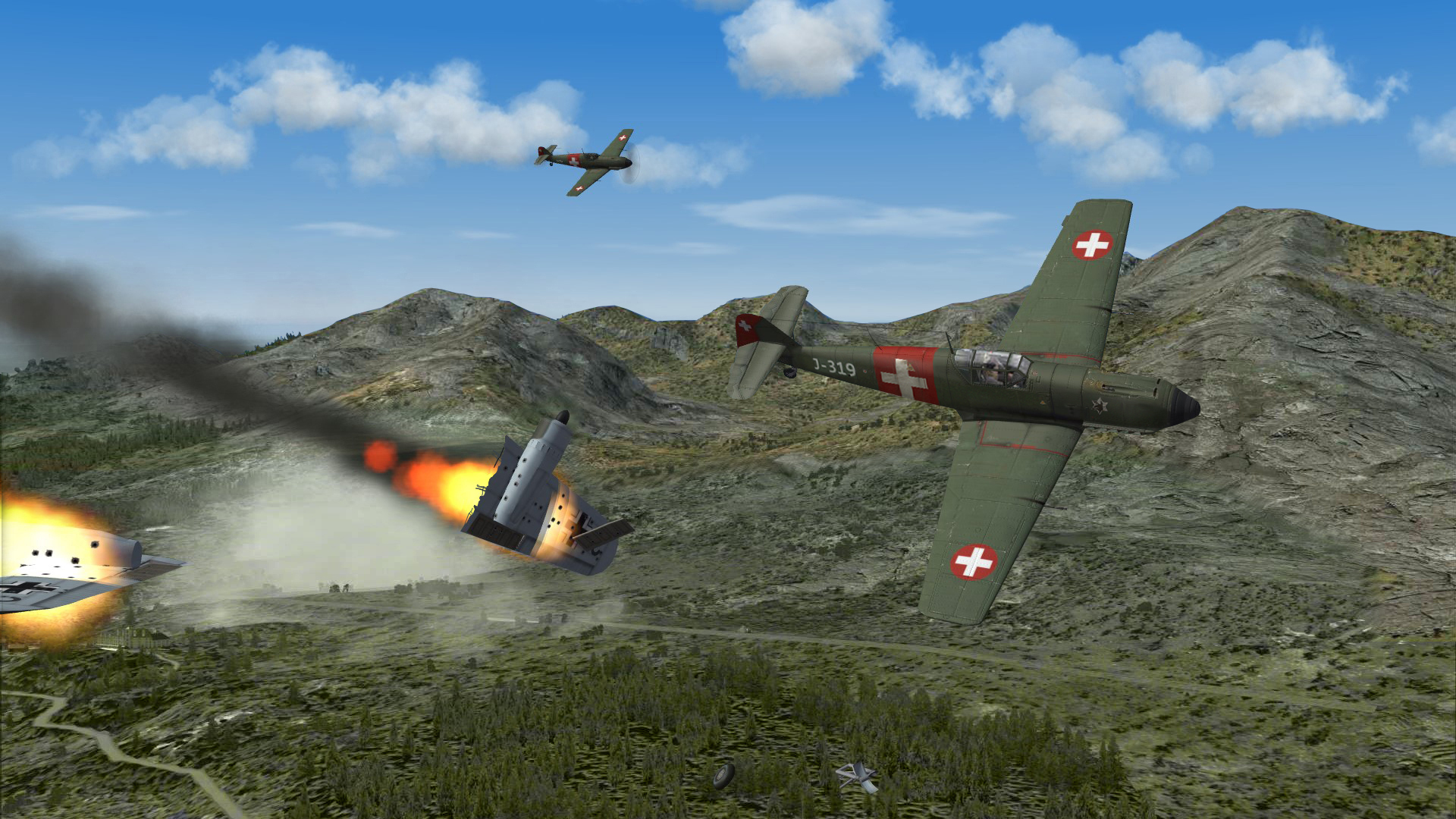 Another kill for this Bf109E3 of CP av6 06/1940