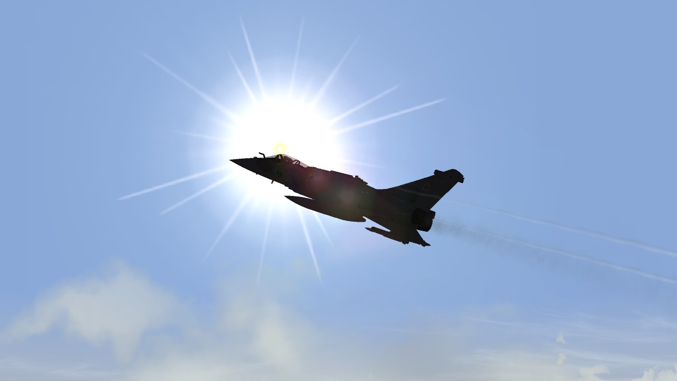 Rafale in the Sun