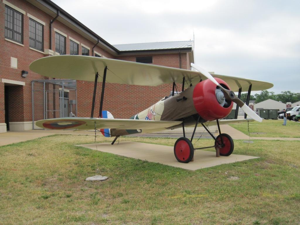 Nieuport 28 (Langley AFB) 2011