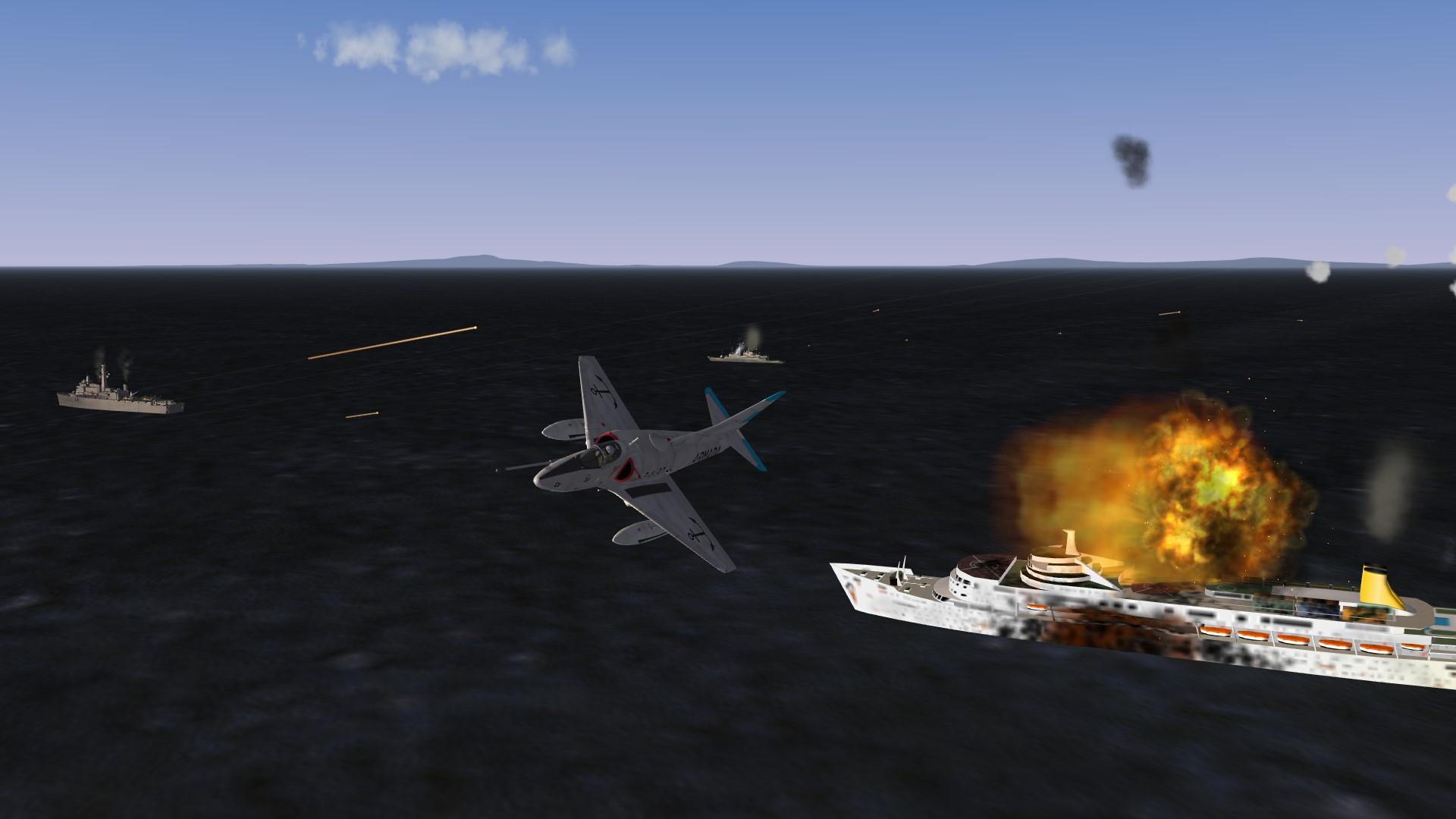 A4Q Skyhawk Target hit