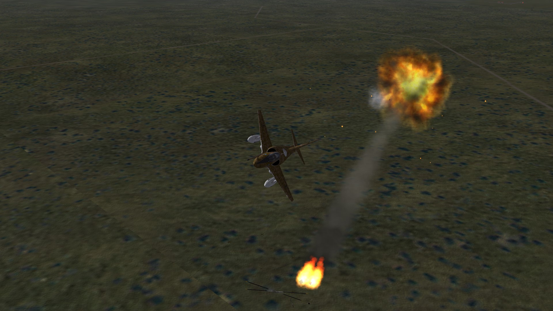 A4Q Skyhawk downing a Wessex met on the way home