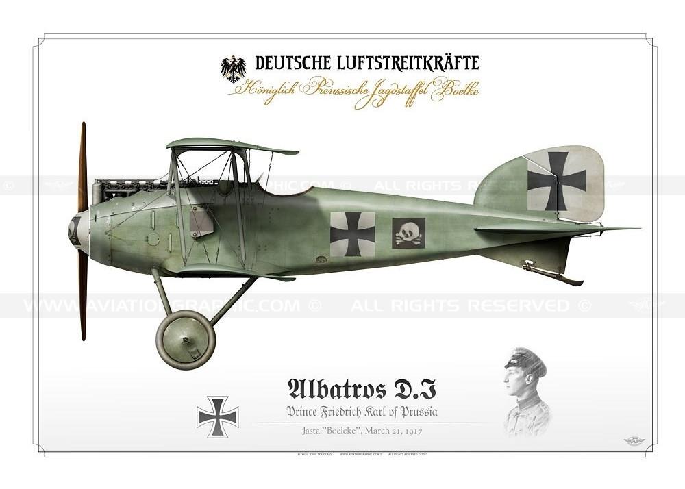 Albatros DI Prinz Fredrich Karl von Preussen
