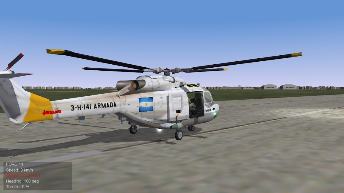 Strike Fighters 2 Lynx Argentino II