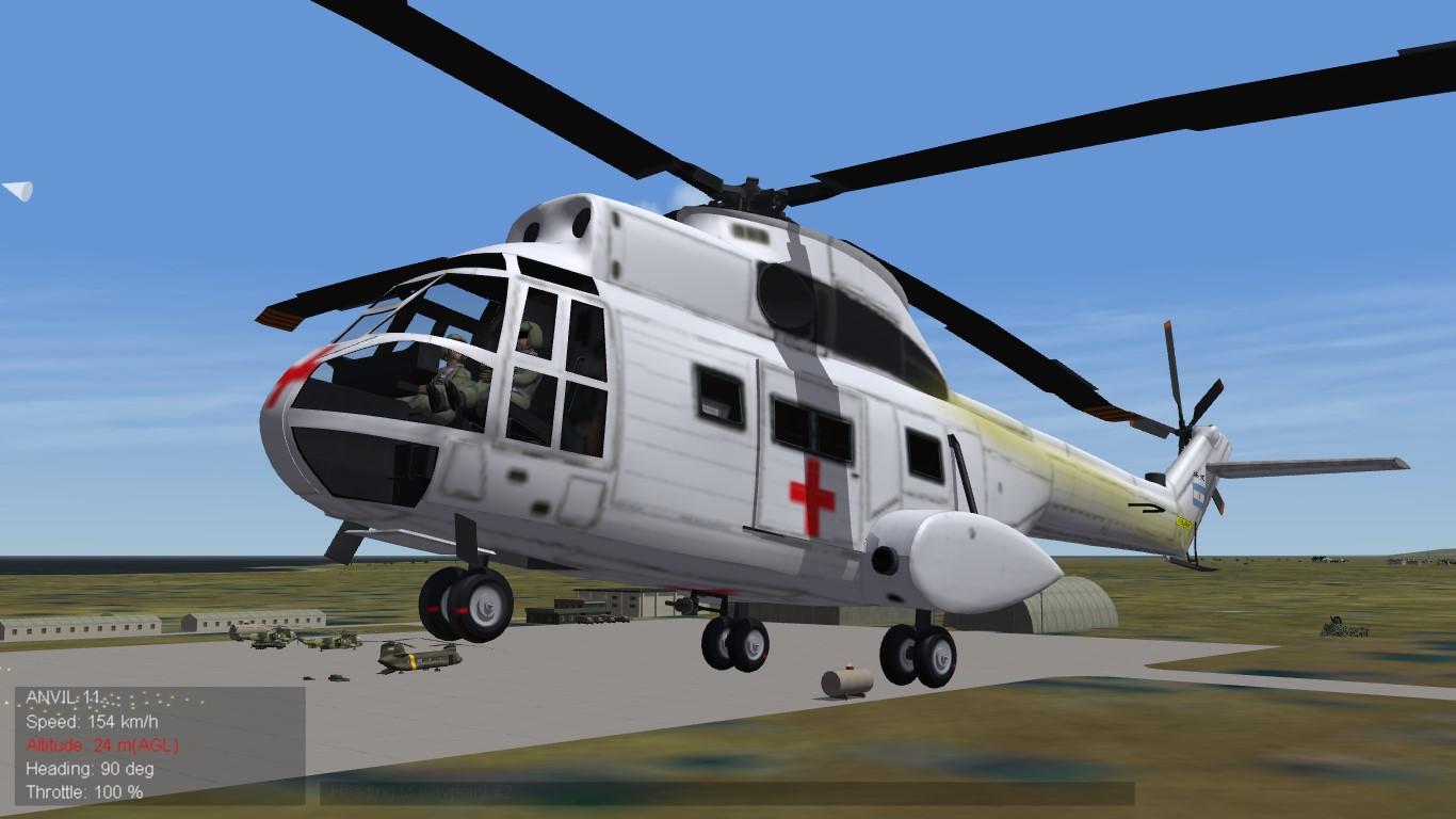 SA 330L Puma Ejercito Argentino