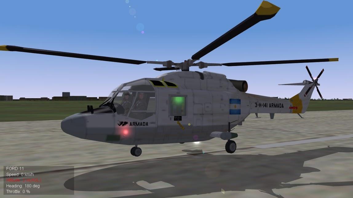 Strike Fighters 2 Lynx Argentino