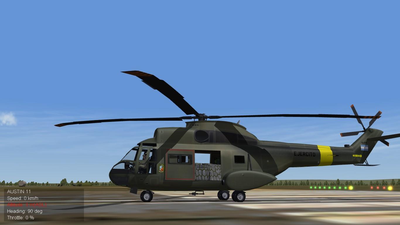 Puma 330 L Ejercito Argentino