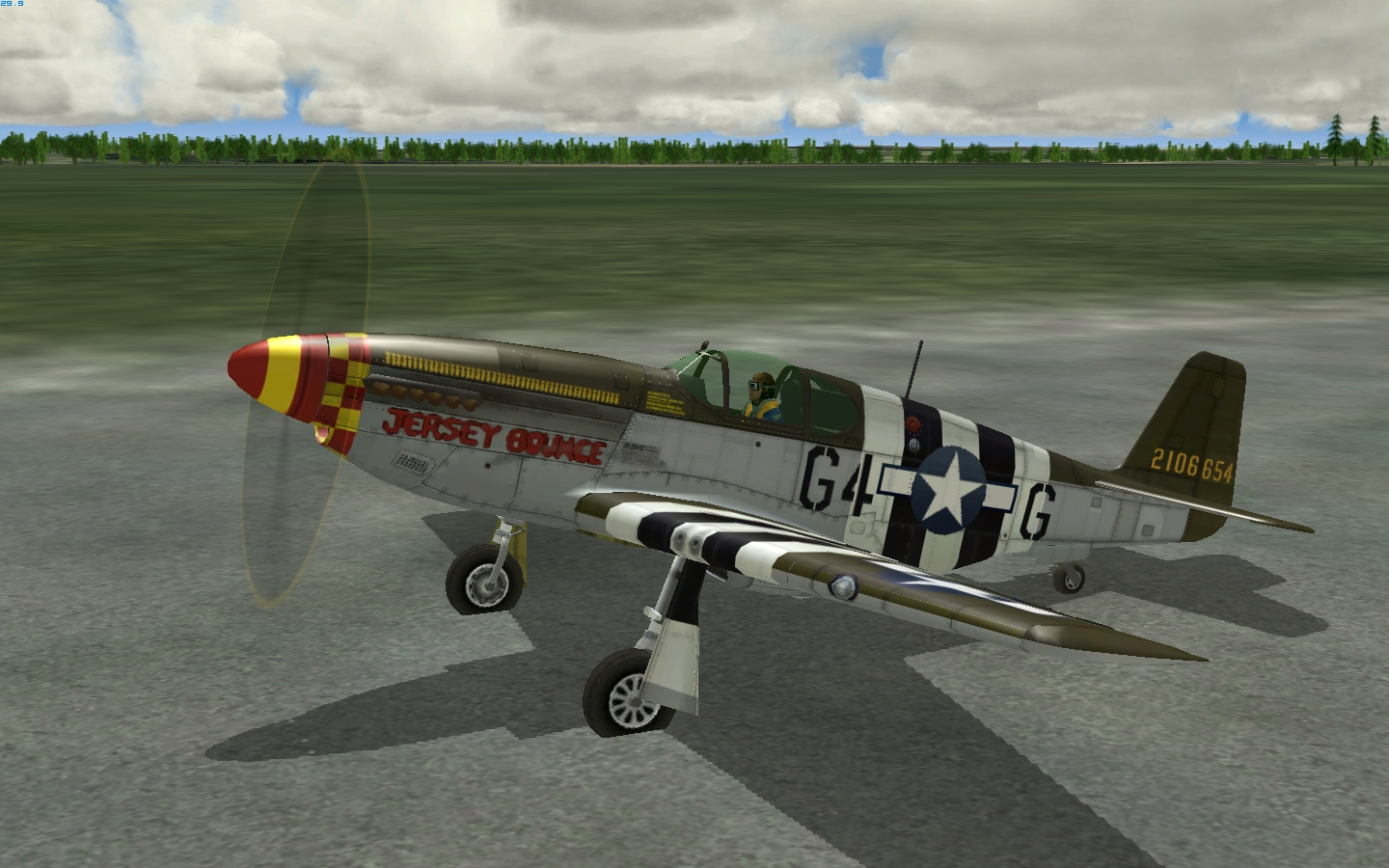 P 51 Jersey Bounce 3