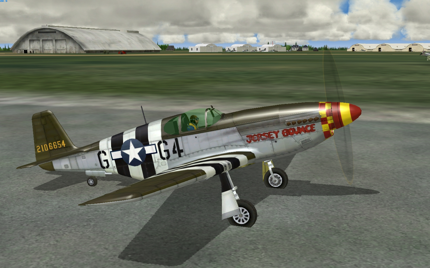 P 51 Jersey Bounce 4