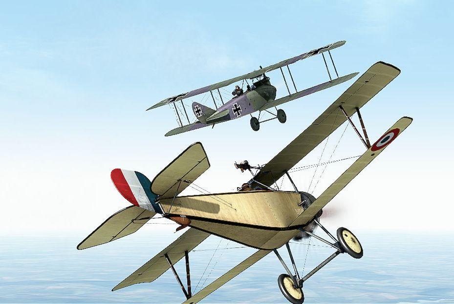 Nieuport 11 vs DFW-1