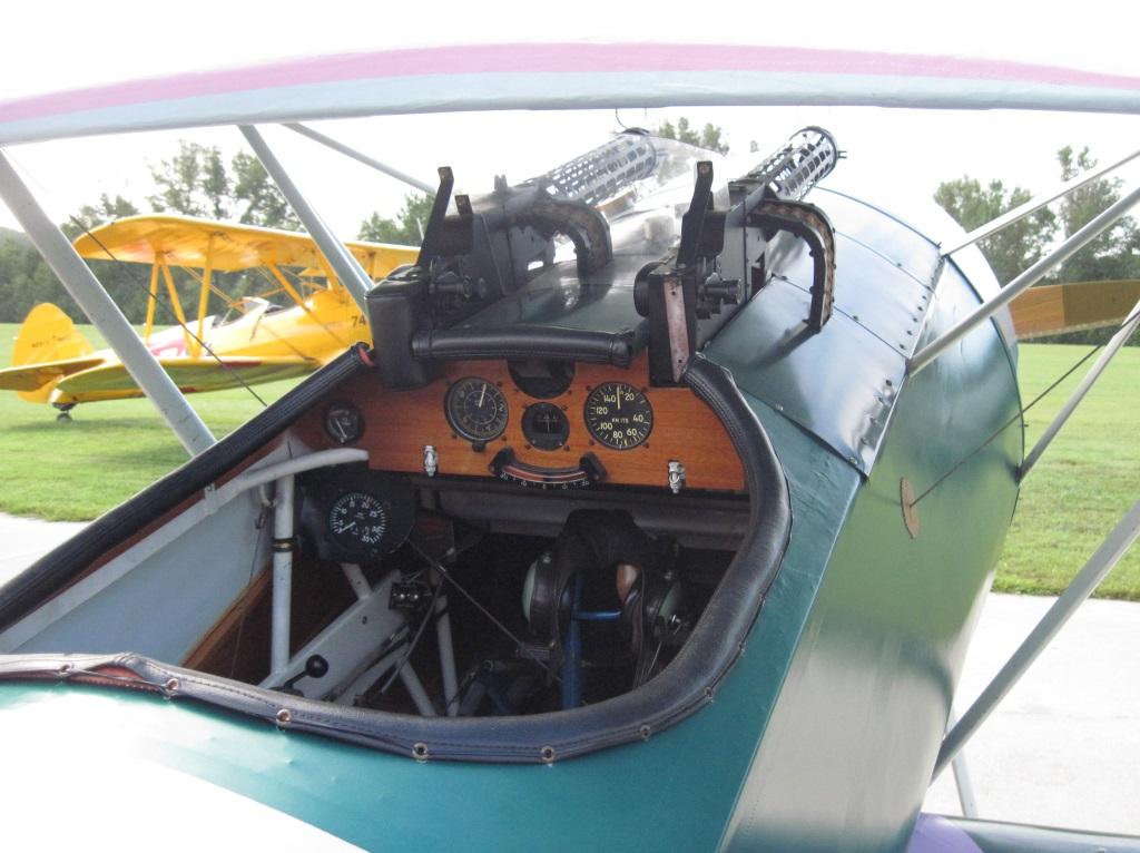 Fokker D.VI Cockpit