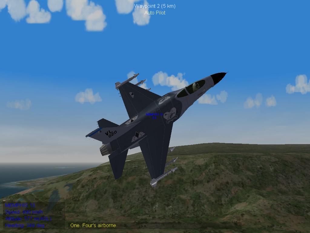 Crow Squadron F-16C
