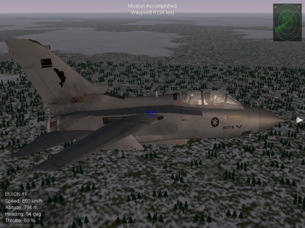 Milvus Squadron Tornado