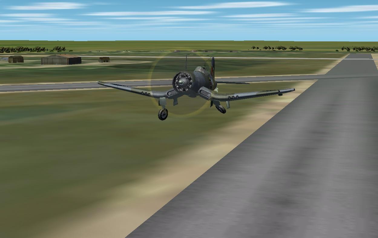 Corsair MkII Takeoff