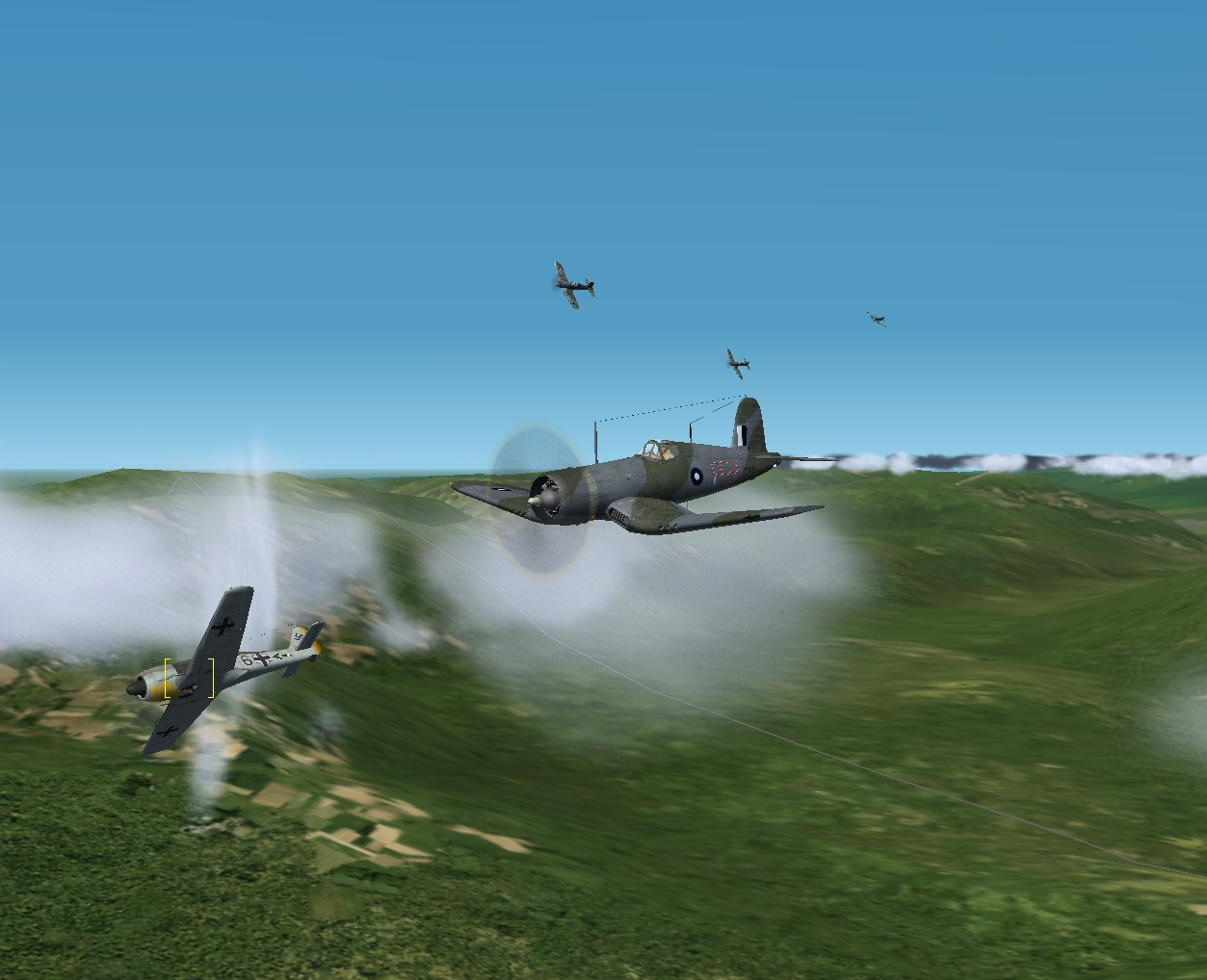 FW 190 In Trouble