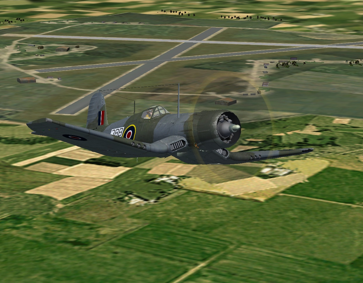 Corsair MkII Takeoff 2