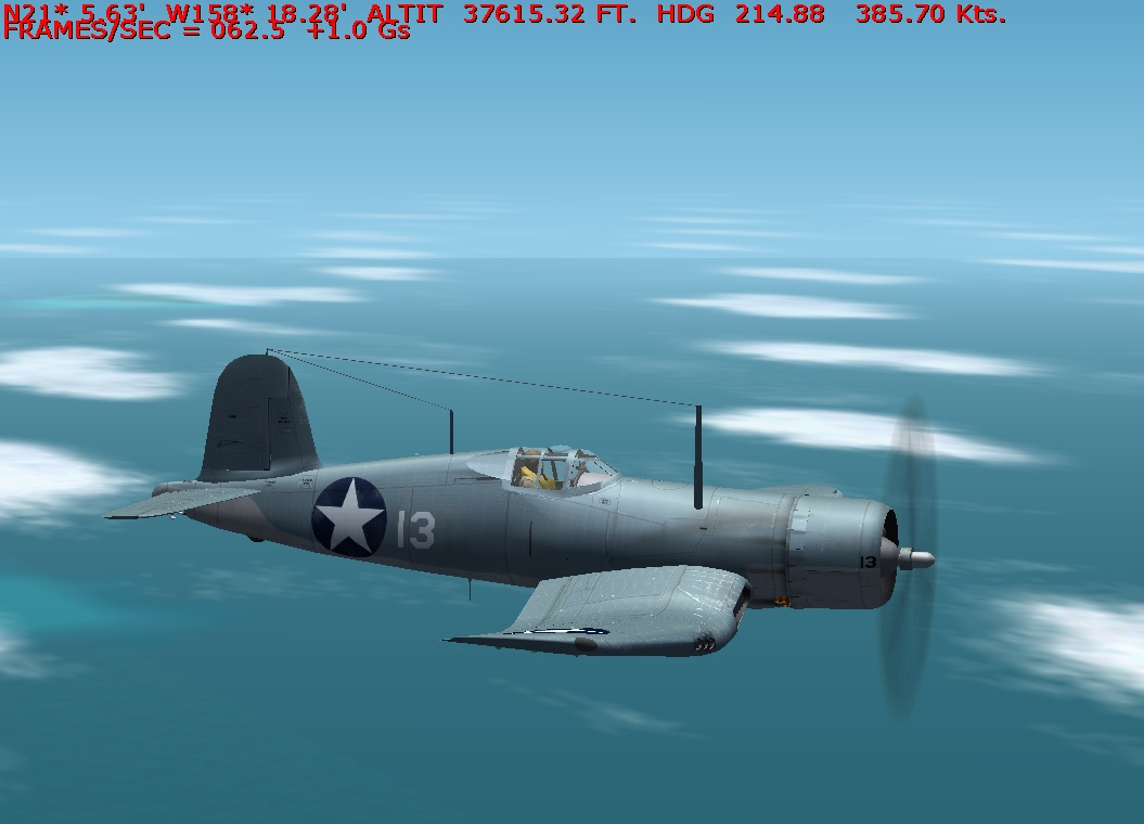 F4U 1 Top Speed