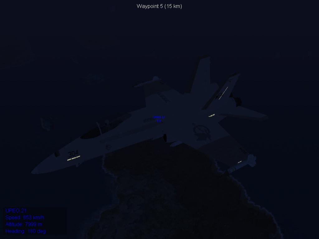 UPEO F/A-18