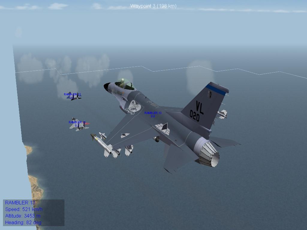Crow Squadron F-16