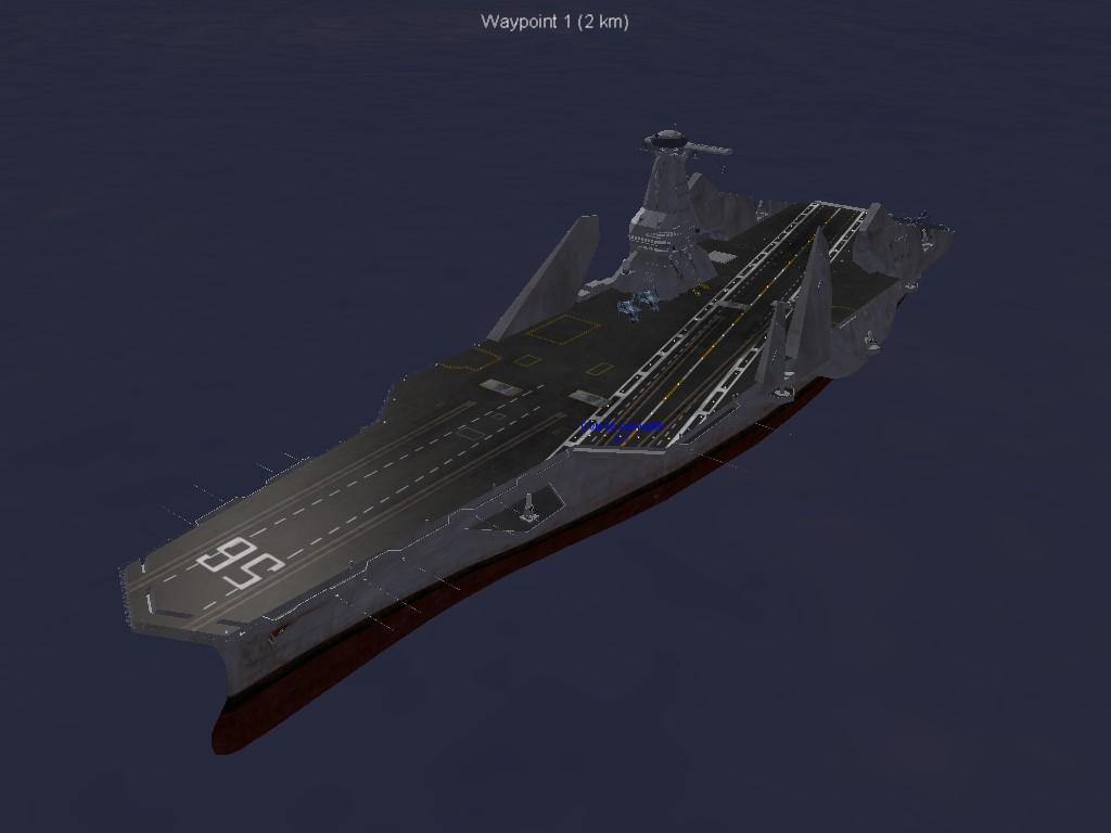 Admiral56 Aircraft Carrier (Sentou Yousei Yukikaze)