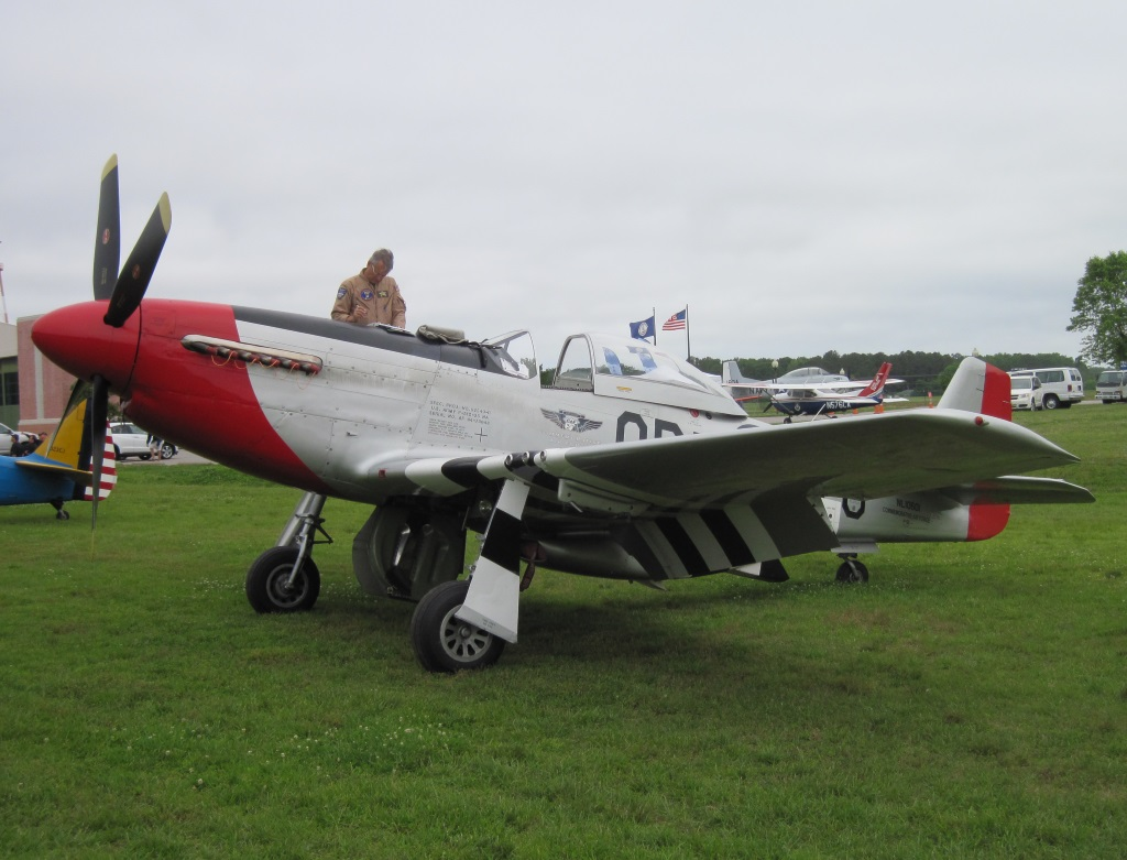 North American P 51D Mustang (Red Nose)