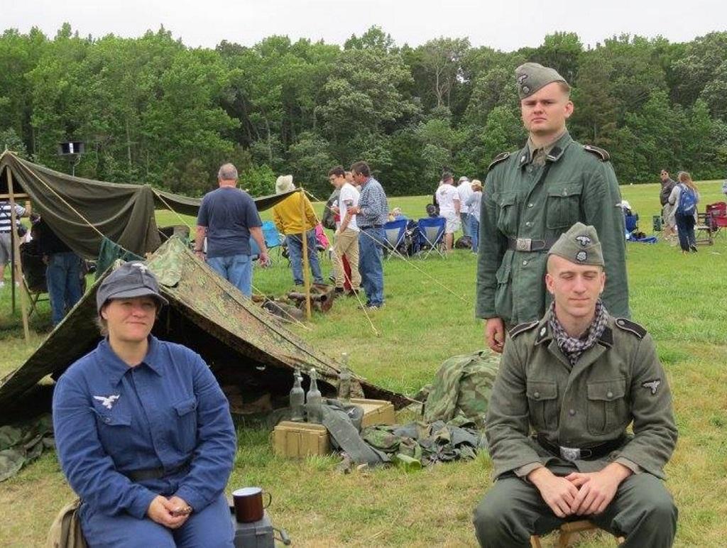 Luftwaffe Re Enactors