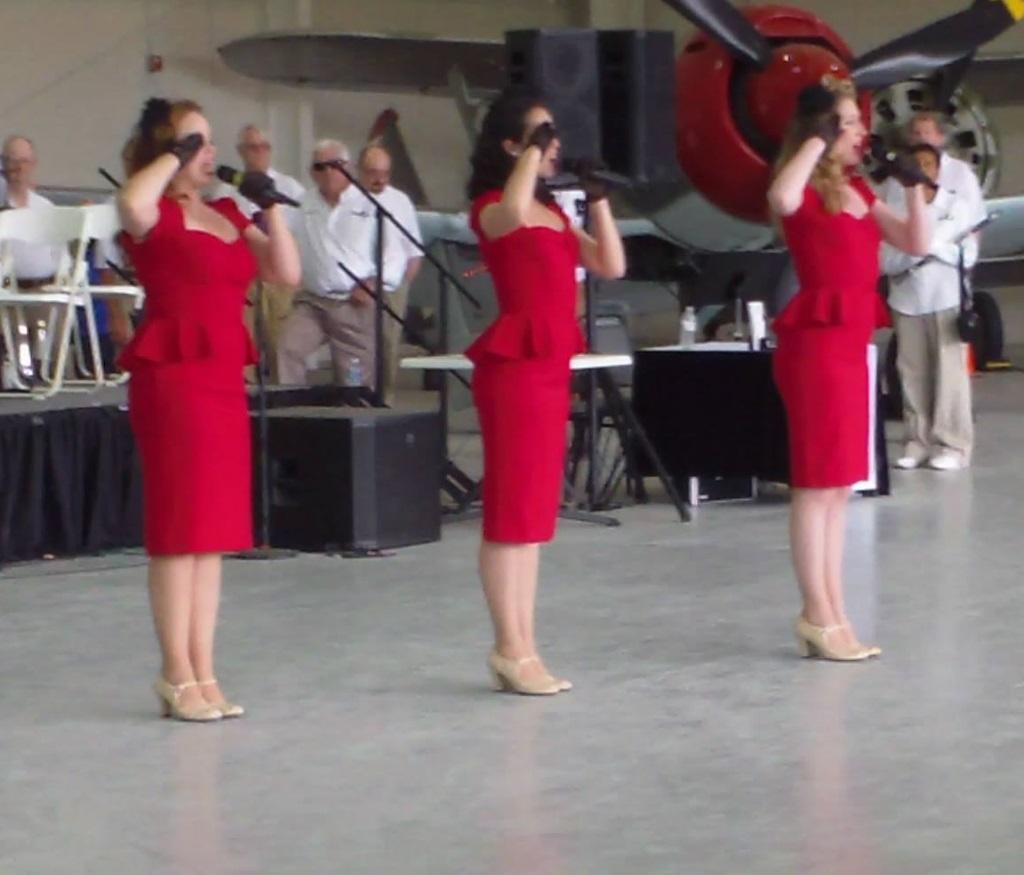 Andrews Sisters Tribute