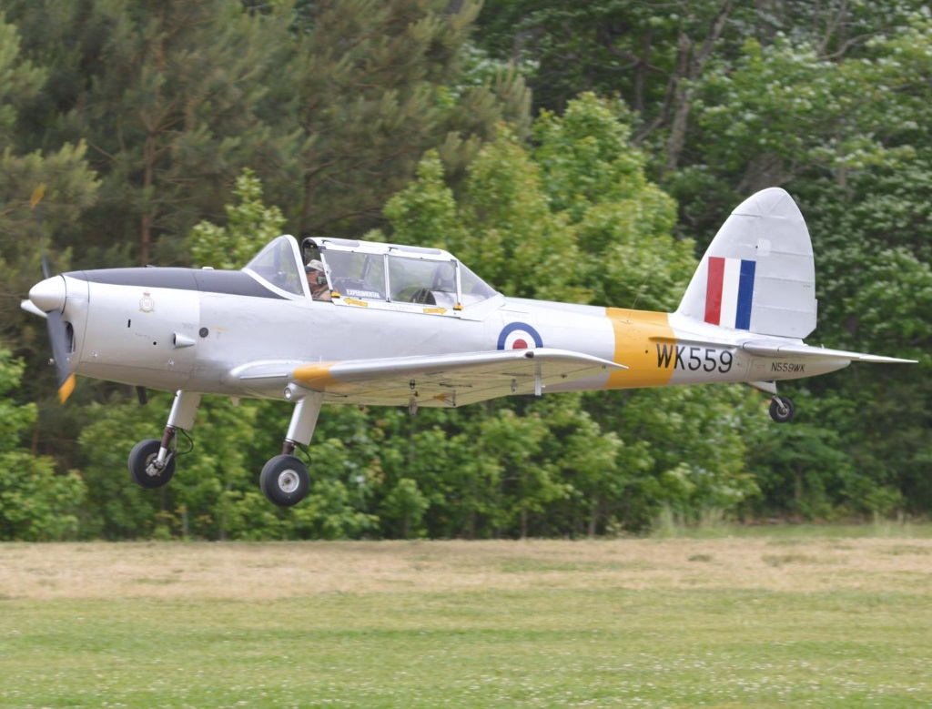 De Havilland DHC 1  Chipmunk