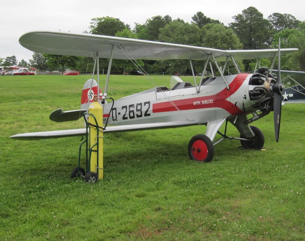 Focke Wulf Fw 44 Stieglitz (1)