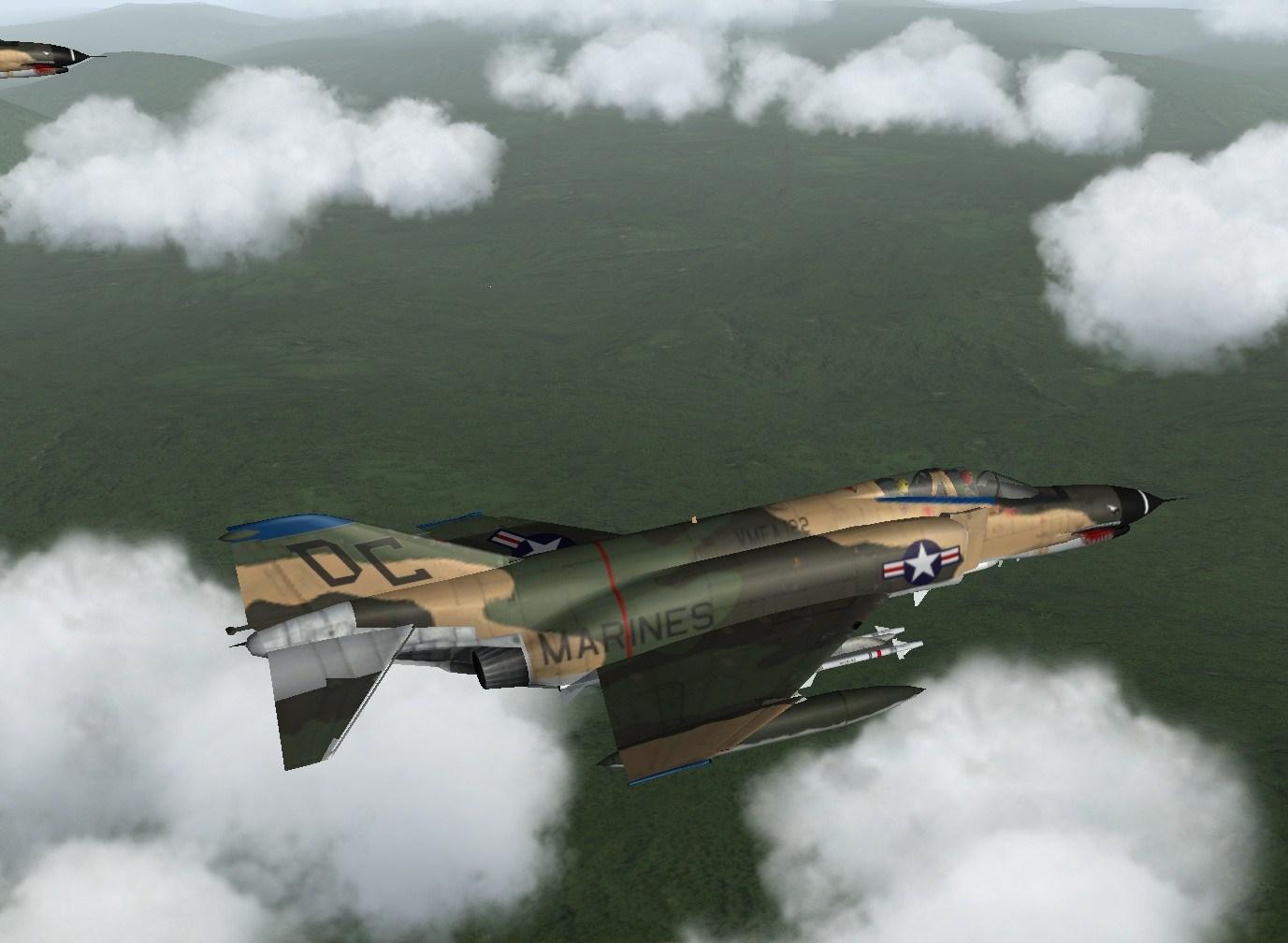 Cammoed Crusader F 4E