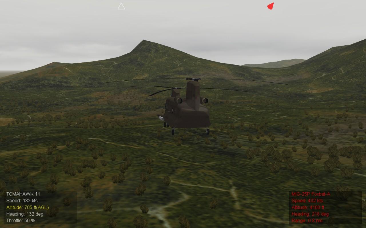 250m resolution terrain 1