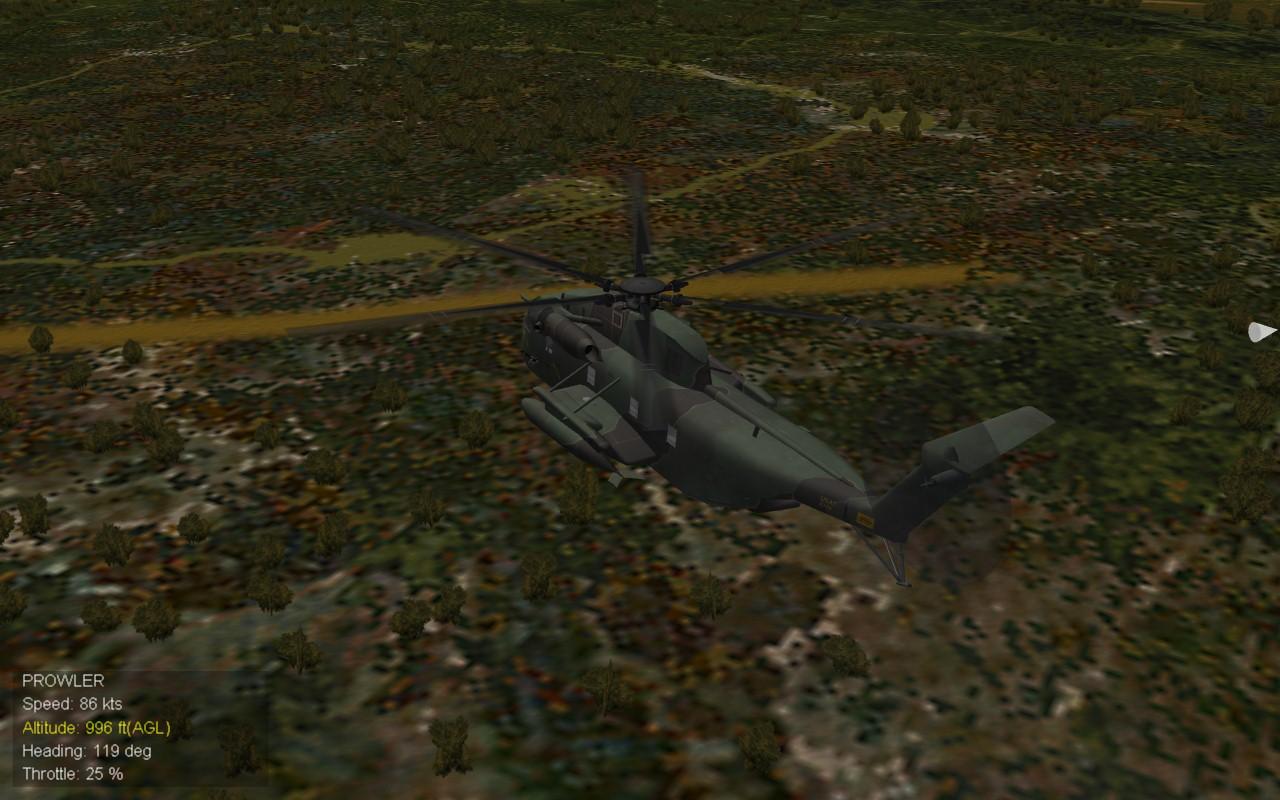 Landing Site Flyover 1