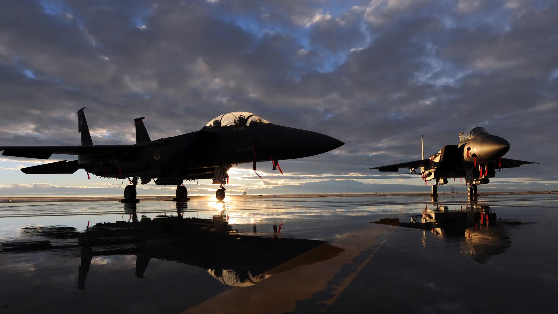 F15E Strike Eagles