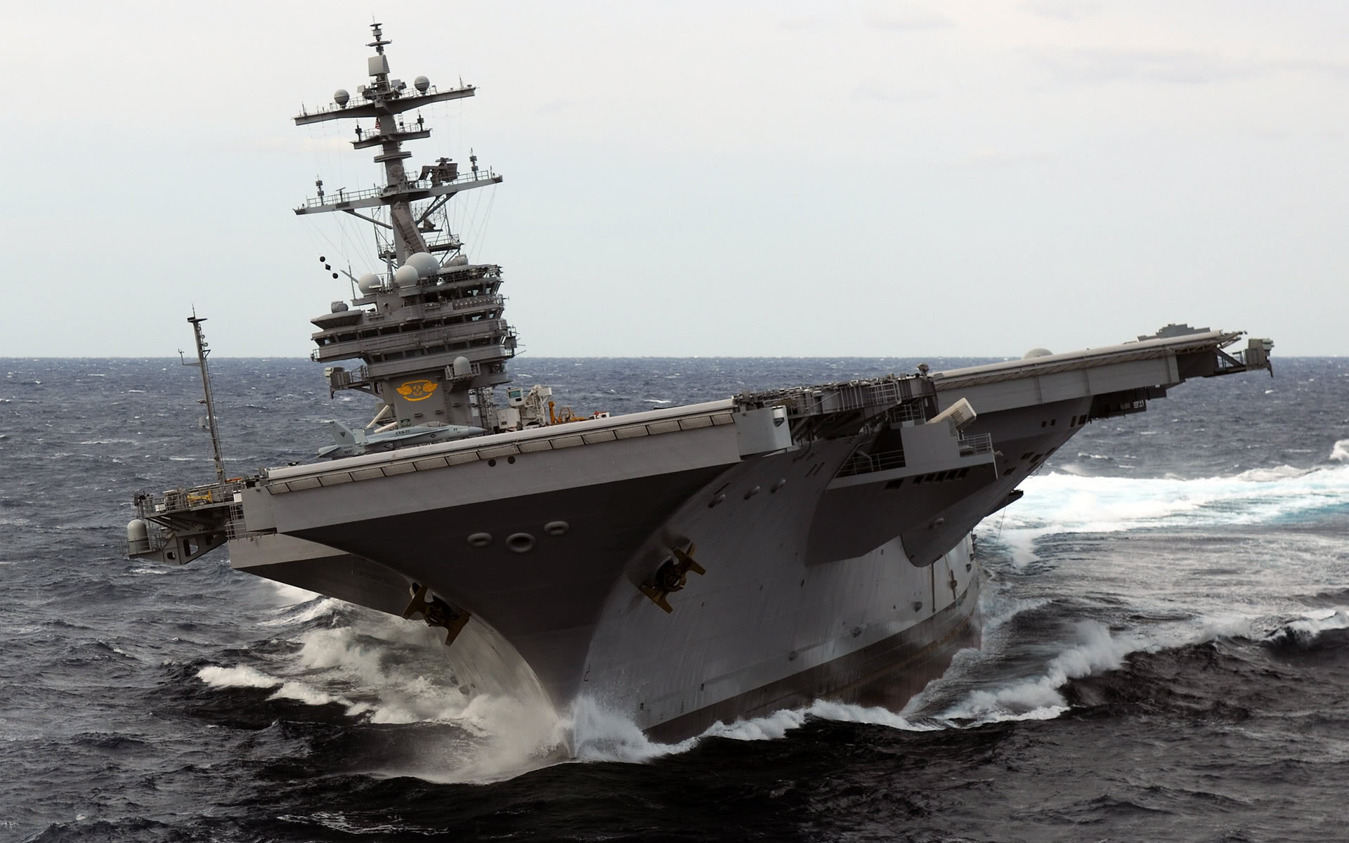 USS George HW Bush CVN77
