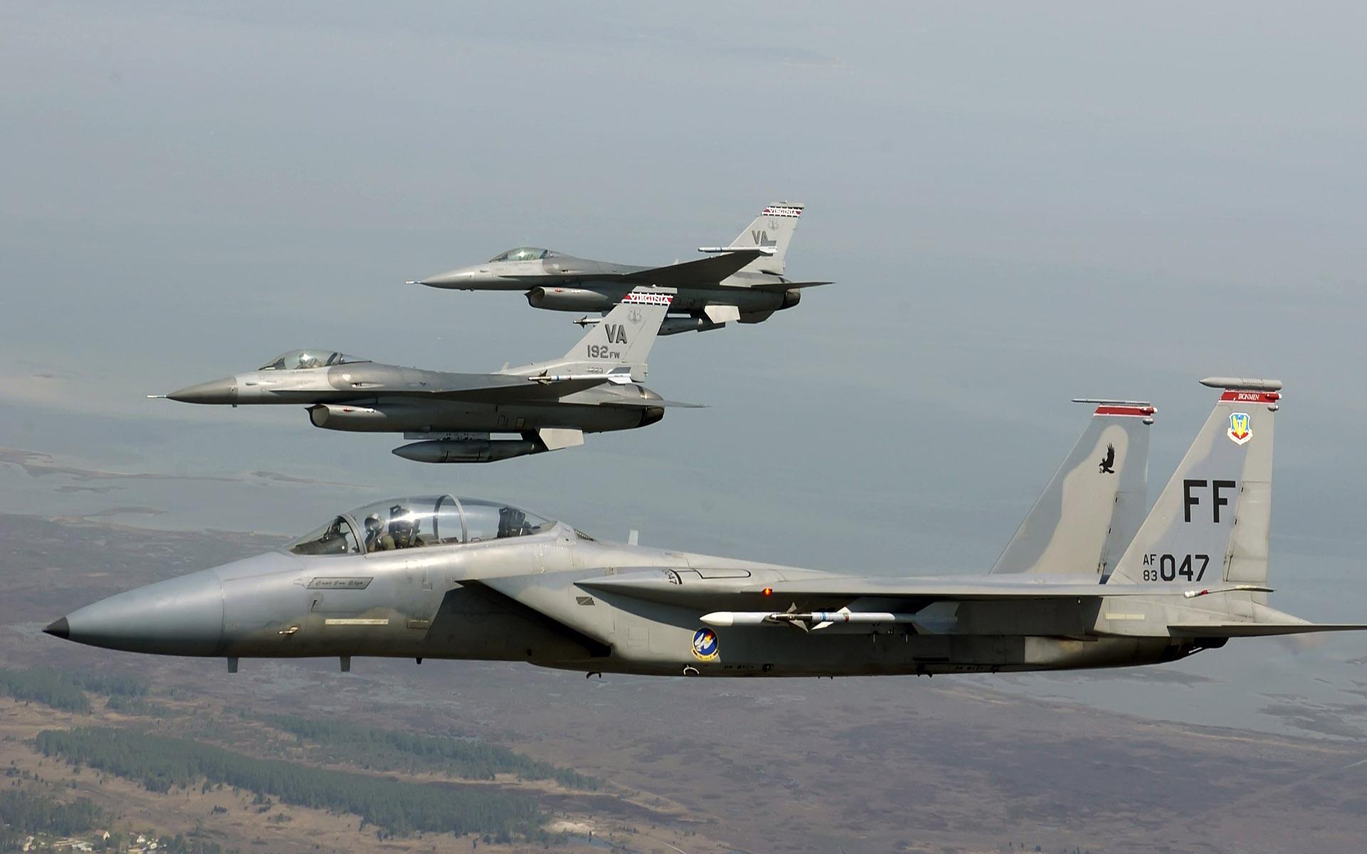 Eagle and Falcons
