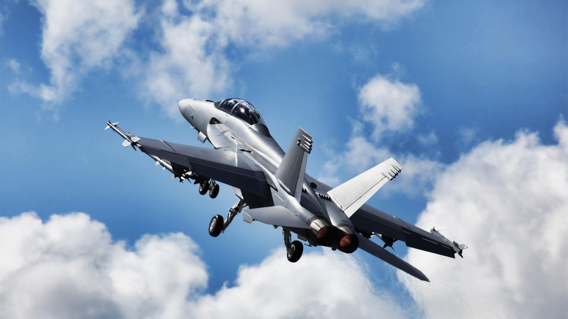 F18 Super Hornet Aircraft 1080x1920