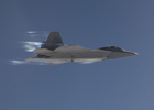 First Supersonic Small Diameter Bomb Release from an F-22