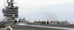 USS Harry S Truman (CVN 75) Flight Deck