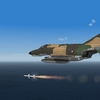 RAAF F-4E launches a Sparrow missile